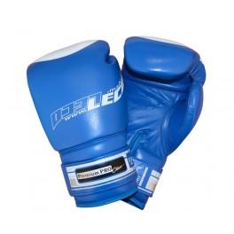 Перчатки боксерские 8 унц.синие, Премиум ПРО