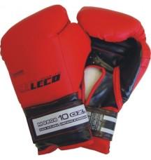 Перчатки боксерские 10 унц. красные