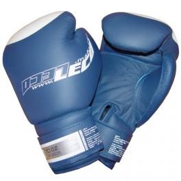 Перчатки боксерские 10 унц. синие ПРО