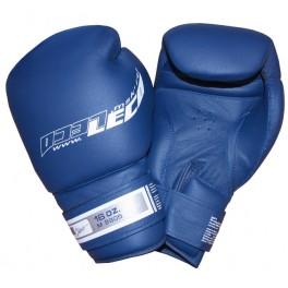 Перчатки боксерские 16 унц. синие ПРО