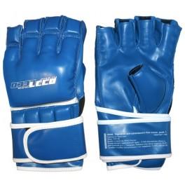 Перчатки для рукопашного боя синие, разм.M