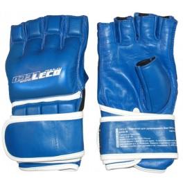 Перчатки для рукопашного боя ПРО+ синие, разм.S