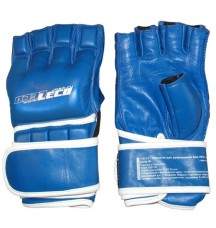 Перчатки для рукопашного боя ПРО+ синие, разм.L
