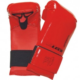 Перчатки спарринговые красные разм. M