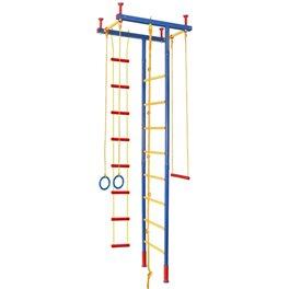 Детский спорткомплекс распорный, выс. 2,35 - 2,80