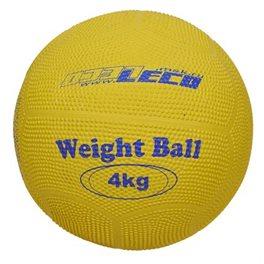 Мяч для атлетических упражнений резиновый 4 кг