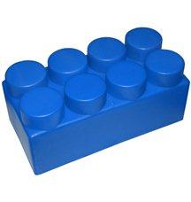"Элемент GigaBloks 5"" 4 х 2 синий"