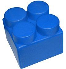 "Элемент GigaBloks 5"" 2 х 2 синий"