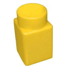 """Элемент GigaBloks 10"""" 1 х 1 желтый"""