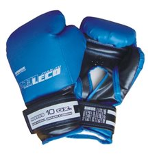 Перчатки боксерские 10 унц. синие