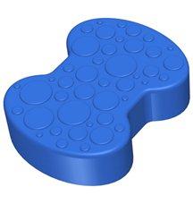 Соединительный элемент пазлового покрытия для игровых площадок Leco-IT синий
