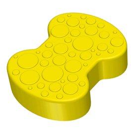Соединительный элемент пазлового покрытия для игровых площадок Leco-IT желтый