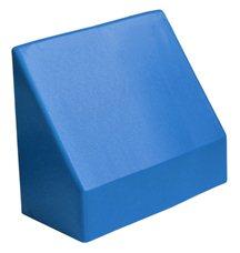 "Наклонный элемент GigaBloks 10"" 2 х 1 синий"