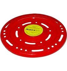 Летающая тарелка флуоресцентная красная