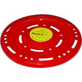 Летающая тарелка красная