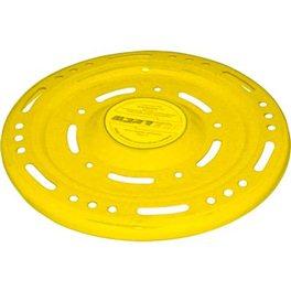 Летающая тарелка желтая