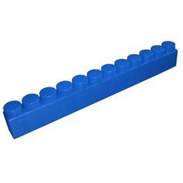 """Балка GigaBloks 10"""" 12 х 1 синяя"""