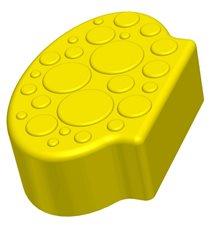 Заглушающий элемент пазлового покрытия для игровых площадок Leco-IT желтый
