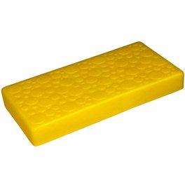 """Крышка для GigaBloks 5"""" 4 х 2 желтая"""