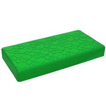 """Крышка для GigaBloks 10"""" 4 х 2 зеленая"""