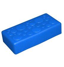 "Крышка для GigaBloks 10"" 2 х 1 синяя"