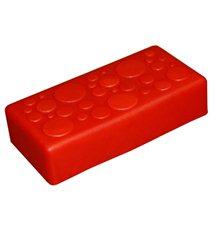 """Крышка для GigaBloks 10"""" 2 х 1 красная"""