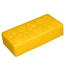 """Крышка для GigaBloks 10"""" 2 х 1 желтая"""