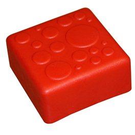 """Крышка для GigaBloks 10"""" 1 х 1 красная"""