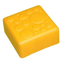 """Крышка для GigaBloks 10"""" 1 х 1 желтая"""