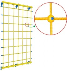 Веревочная сетка настенная Leco-IT ширина 110 см