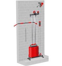 Блоковый тренажер пристенный Leco-IT Home