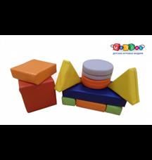 мягкий конструктор-10 ( 10 элементов)