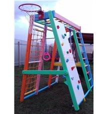 Детский спортивный комплекс ДСК Батыр Акварель с защитным покрытием для улицы