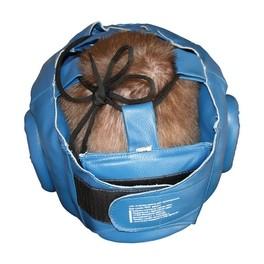 Шлем-маска для рукопашного боя синяя ПРО разм.L